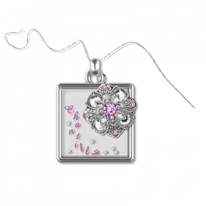 Scrapbook Chantilly charm freebie from Cheyokota digital scraps