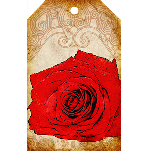 """Free scrapbook """"Flowr tags"""" from Call me Victorian"""