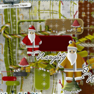 Free scrapbook christmas kit by Eirene Designs
