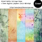 Watercolor grunge papers