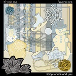 """Free scrapbook kit """"It's cold out!"""""""