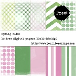 Spring bliss papers