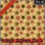 "Free scrapbook paper ""Mud Stars"" from enlivendesigns.us"