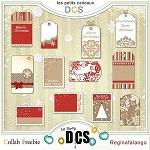 Free scrapbook christmas tags from Regina Falango
