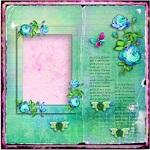 "Free scrapbook ""My Secret Garden qp"" from Aneczkaw designs"