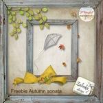 Scrapbook freebie Autmn Sonata