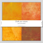 Chalk Your Autmn Collab Kit Papers by Verulinka