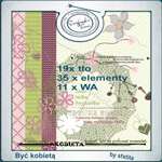 "Free scrapbook collab kit ""Be a woman"" by sfxtitaphotography"