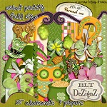 "Free scrapbook full size kit ""Saint Patty"" from Blt Dezignz"