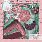 "Scrapbook Freebie ""Brothers & Sisters"" from Breath of Rain Scraps"