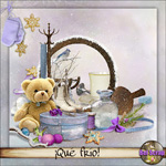 """Free scrapbook kit """"So Cold"""" from belscrap"""