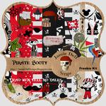 "Scrapbook Freebie Kit ""Pirate Booty"" from Jamie Dell Scraps"