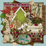 "Scrapbook Freebie ""Christmas Memories"" by sinfullycreativescraps"