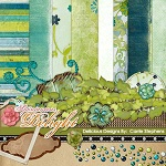 "Free digital scrapbook kit ""Delight"" from ShabbyPrincess"