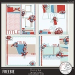 Free scrapbook layouts from Damayanti Studio