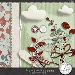 "Free winter scrapbook ""Memory Keepers"" from Damayanti Studio"