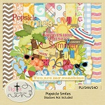 "Free scrapbook kit ""Popsicle Smiles"" from DigiTee"