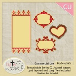 Free scrapbook Journal Mattes from DigiTee Designs