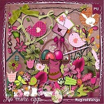 "Free scrapbook kit ""No more eggs"" from Reginafalango"