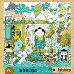 "Free scrapbook kit ""Made in Japan"" from Regina Falango"