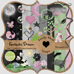 "Scrapbook Freebie Kit ""Fantastic Dream"" from Jamie Dell Scraps"