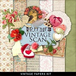 "Free scrapbook mini kit ""Romantic 2″ from Far Far Hill"