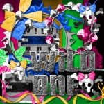 "Free digital scrapbook ""Wild One"" from scrapitstudio"