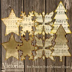 "Free scrapbook ""Primitive Style Christmas Clipart""from Call me Victorian"