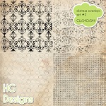 Free scrapbook doodle overlays 1 from HG designs