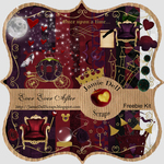 """Scrapbook Freebie Kit """"Ever Ever After"""" from Jamie Dell Scraps"""