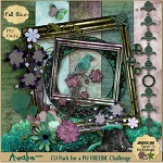 "Free scrapbook ""Awake"" from Jessica's Sweet Nothings- Full Size"