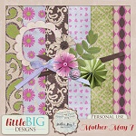 Free scrapbook mini kit from Little Big Designs