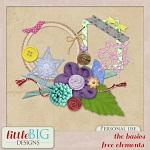 Free scrapbook elements from Little Big Designs