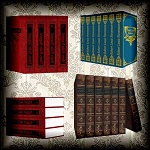 "Free scrapbook ""Books"" from mgtcsdigitalartstuff Full Size"