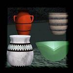 "Free scrapbook ""Bows and Jars"" from mgtcsdigitalartstuff Full Size"