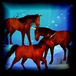 Free scrapbook Unicorns from Mgtcs Digital Art