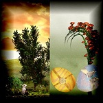 "Free scrapbook kit ""Easter Pack"" from Mgtcs Digital Art"