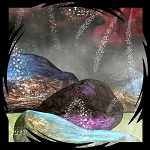 "Free scrapbook elements ""Fae Stones"" from Mgtcs Digital Art"