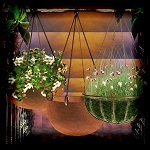 "Free scrapbook ""Hanging Baskets"" from mgtcsdigitalartstuff"