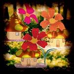 "Free scrapbook kit ""Little fantasy houses"" from Mgtcs digital art stuff"