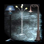 "Free scrapbook ""Lamps"" from mgtcsdigitalartstuff"
