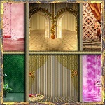 Free scrapbook Painting Backgrounds from Mgtcs Digital Art