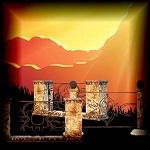 "Free scrapbook ""Stone Fences"" from mgtcsdigitalartstuff High Q"