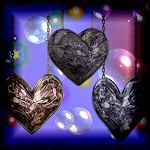 "Free scrapbook ""Hanging Hearts 2"" from Mgtcs digital art stuff"