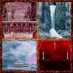Free scrapbook winter and christmas backgrounds from Mgtcs Digital Art