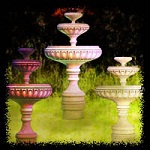 "Free scrapbook ""Fountains"" from mgtcsdigitalartstuff High Q"