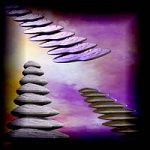"Free scrapbook ""Stairs to Heaven"" from mgtcsdigitalartstuff"