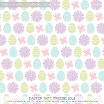 Free scrapbook easter pattern paper from Miss Tiina