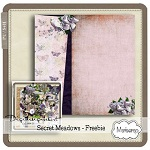 "Free scrapbook ""Secret Meadows"" from Mariscrap"