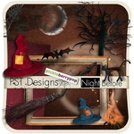 "Scrapbook Freebie  ""Night Before"" by pstogether"